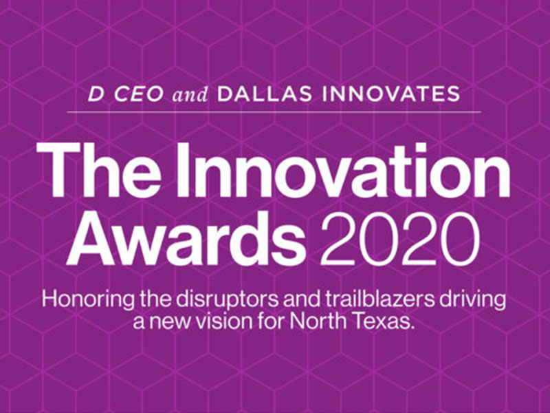 DocSynk named winner at the Innovation Awards 2020, presented by Dallas Innovates and D CEO